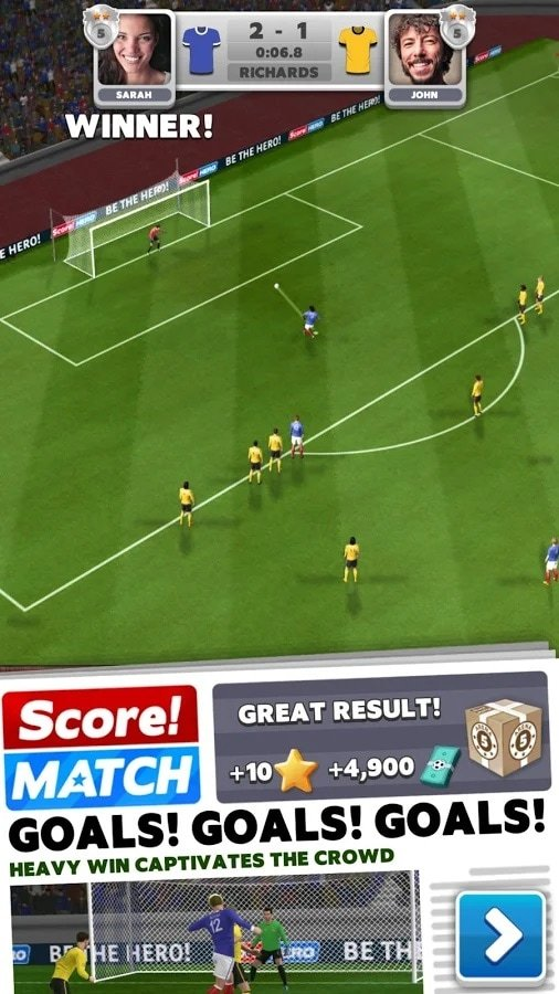 Download Score! Match MOD APK v1 74 (Unlimited Money/Access)