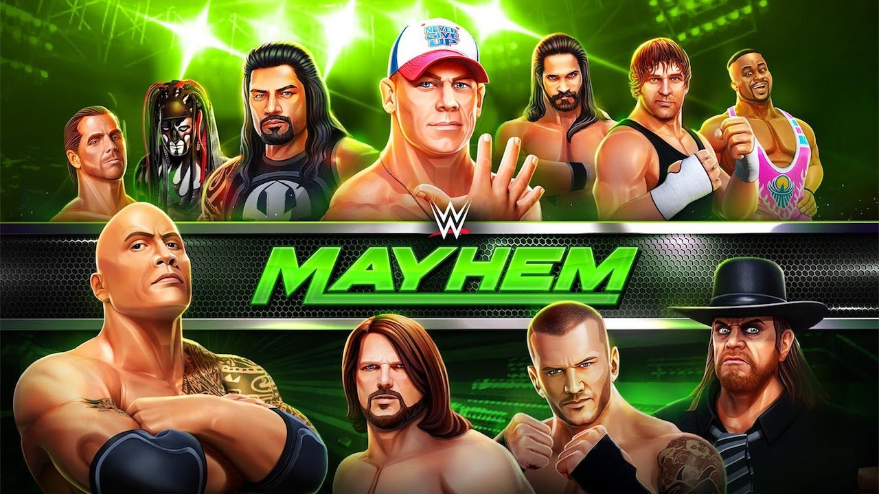 WWE Mayhem download