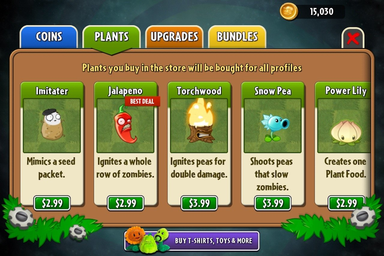 plants vs zombies 2 plants