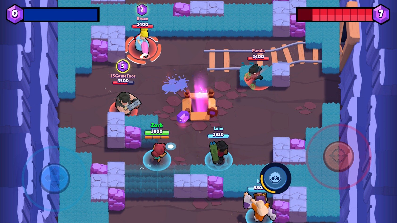 Brawl Stars graphics
