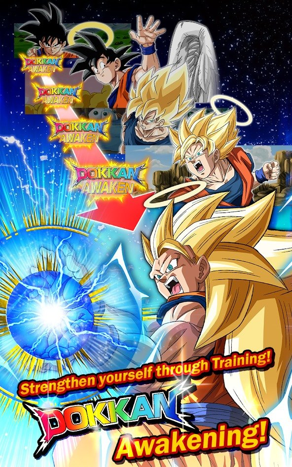 Dragon Ball Z Dokkan Battle characters