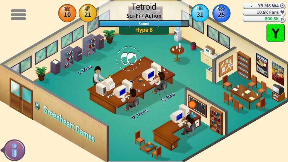Game Dev Tycoon apk 3