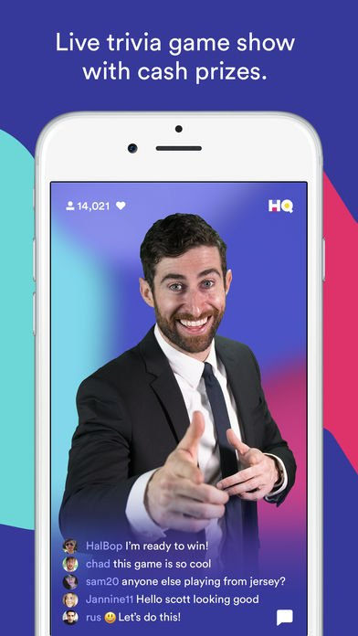 HQ Live Trivia Game Show
