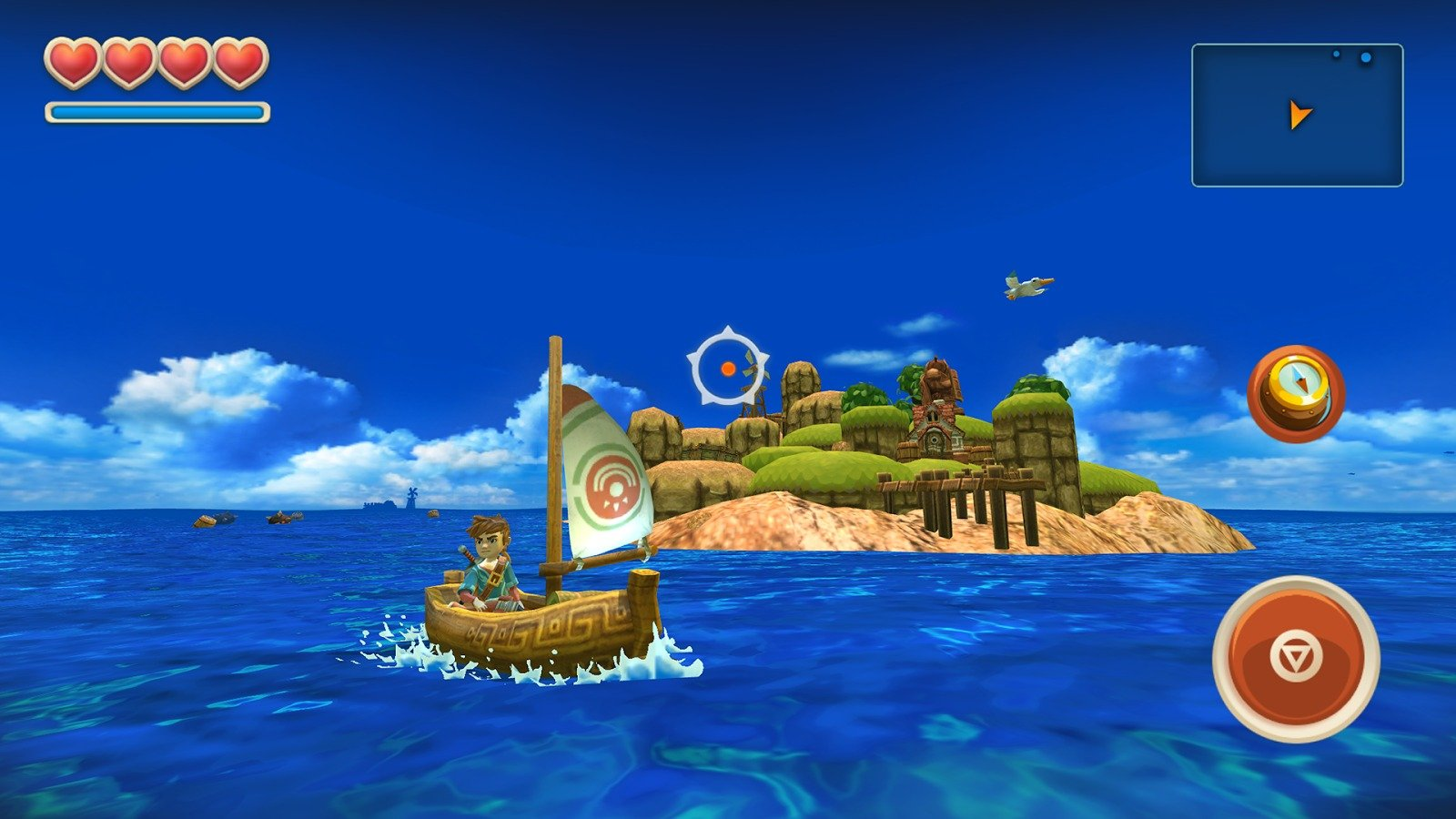 Oceanhorn graphics