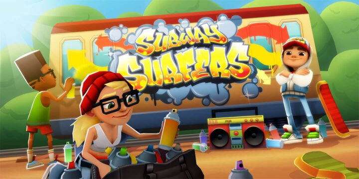 Subway Surfers MOD APK by APKMODY 720x360