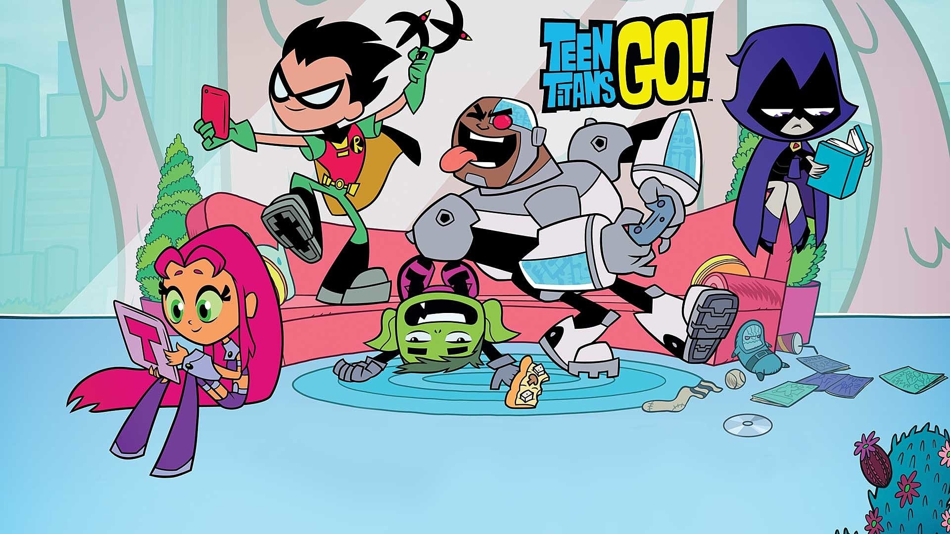 Teen Titans GO Figure cover