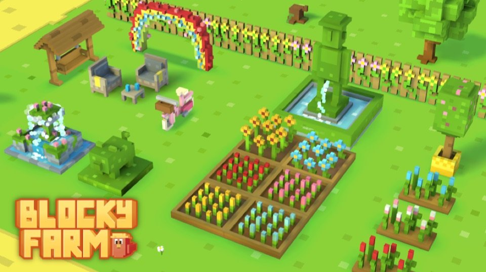 Blocky Farm MOD APK v1 2 77 (Unlimited Gems) Download