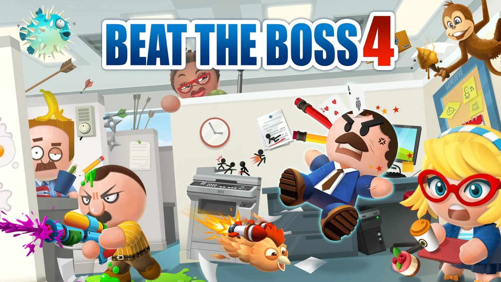 Beat The Boss 4 cover