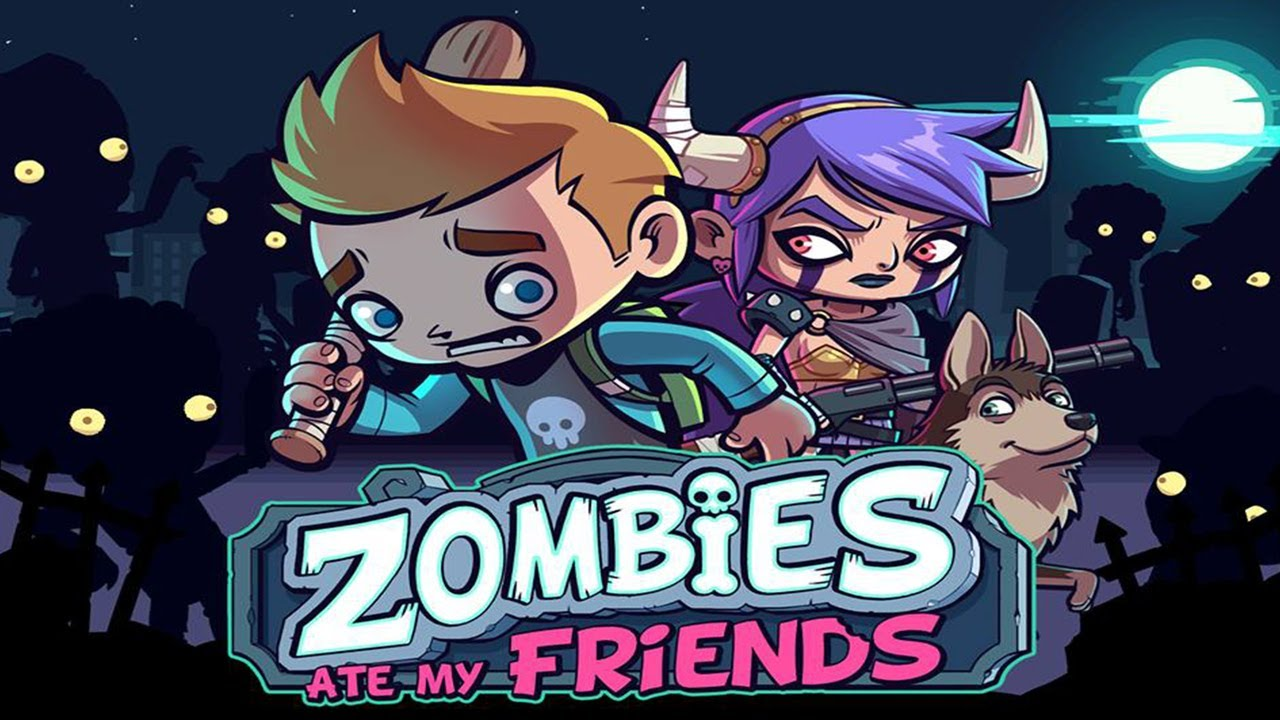 Zombies Ate My Friends cover