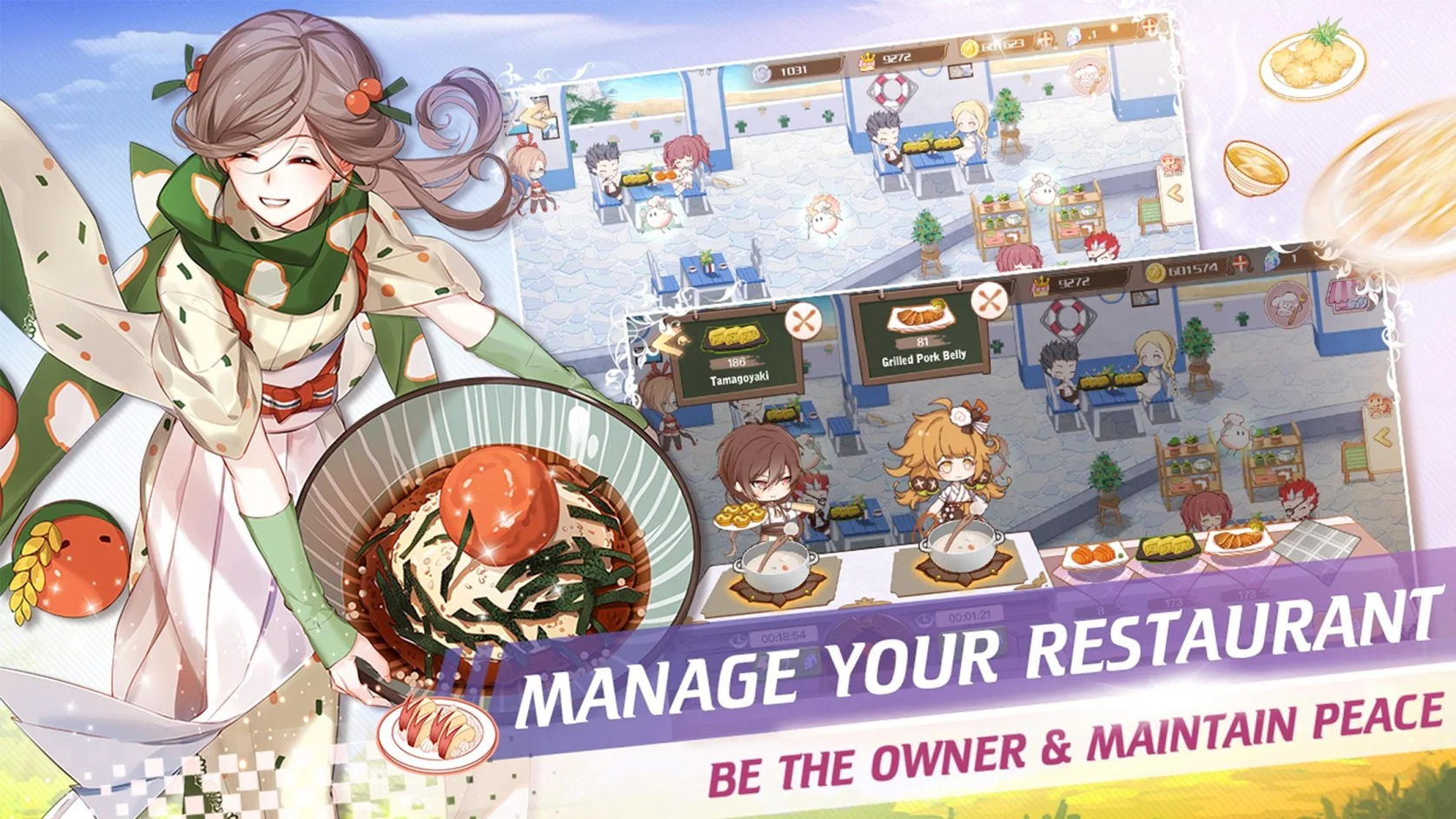 Food Fantasy gameplay