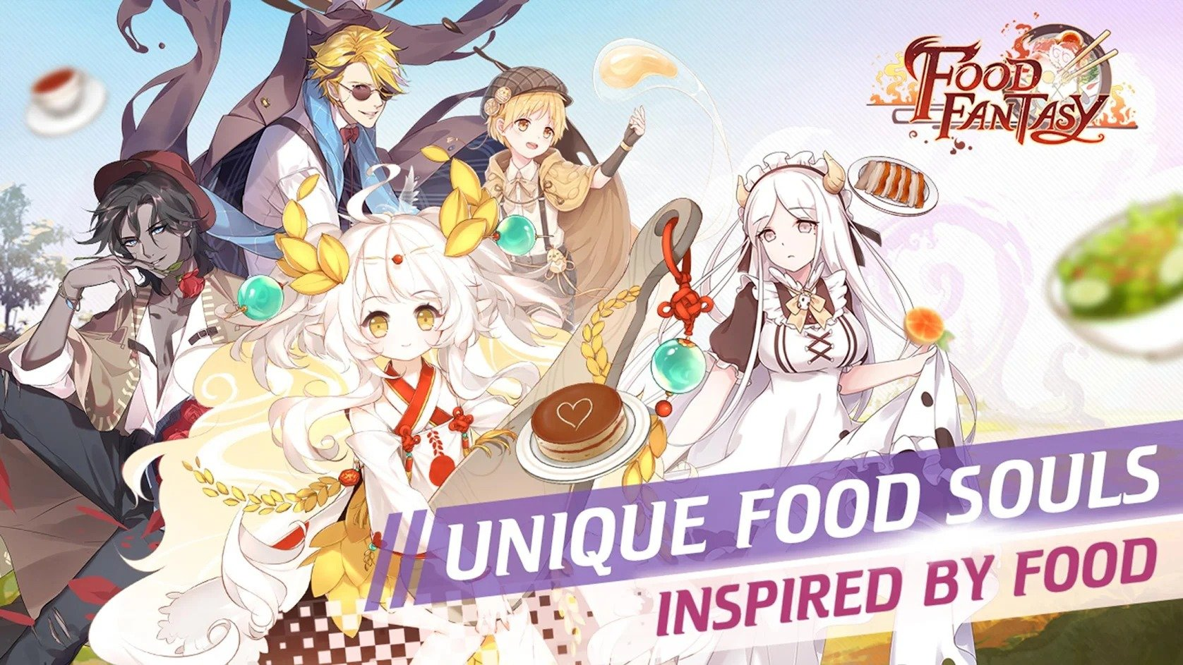 Food Fantasy graphics
