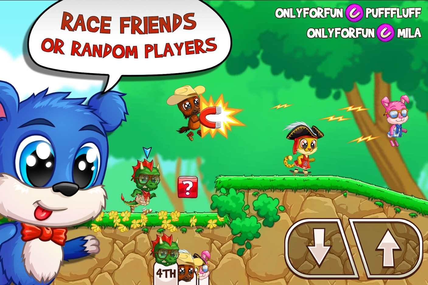 Fun Run 3 Arena graphics