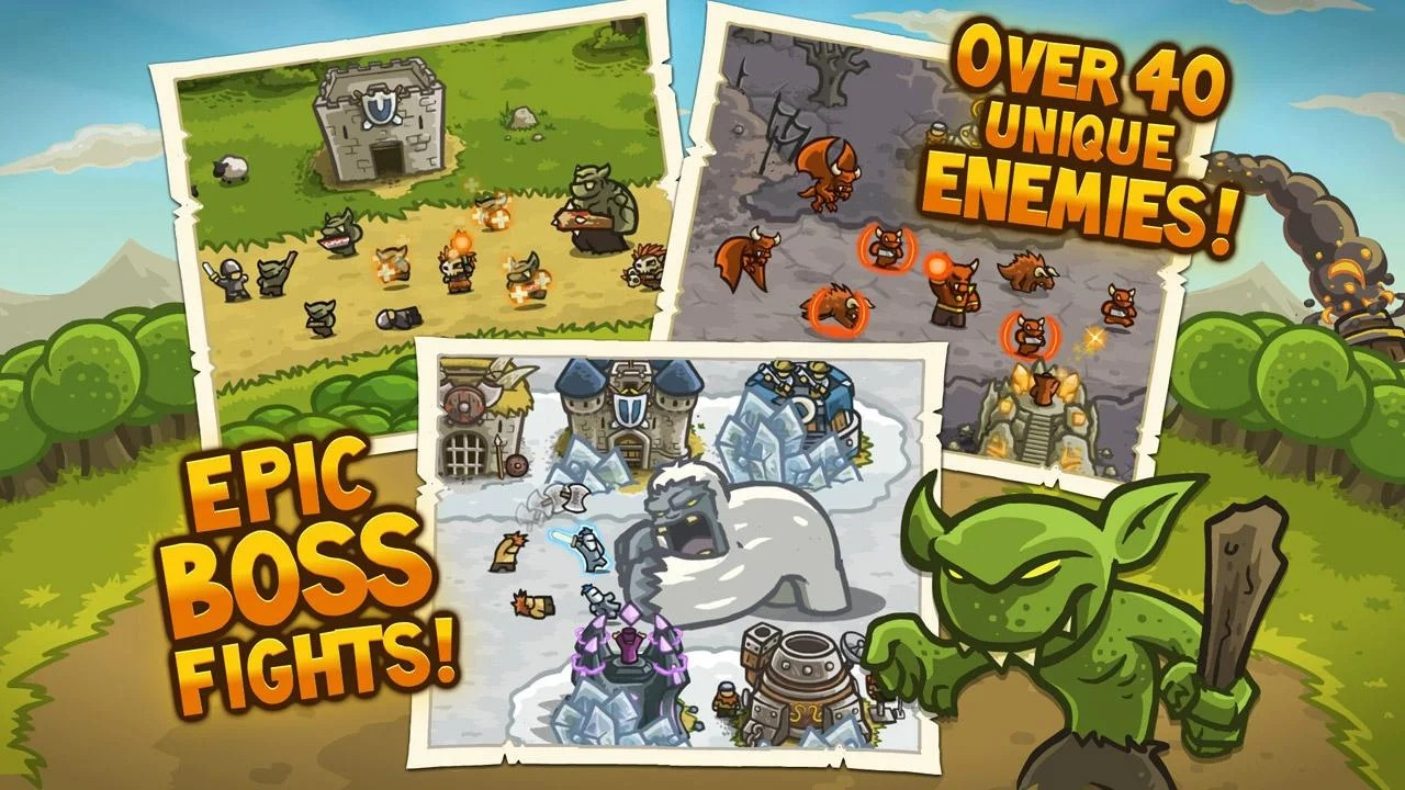 Kingdom Rush heroes