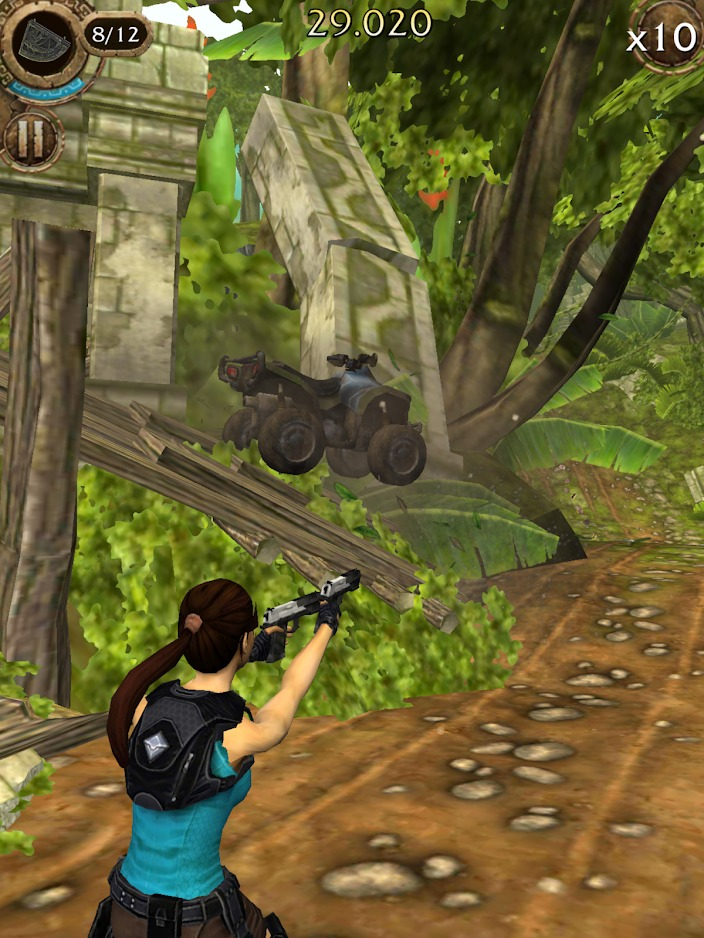 Lara Croft Relic Run screenshot