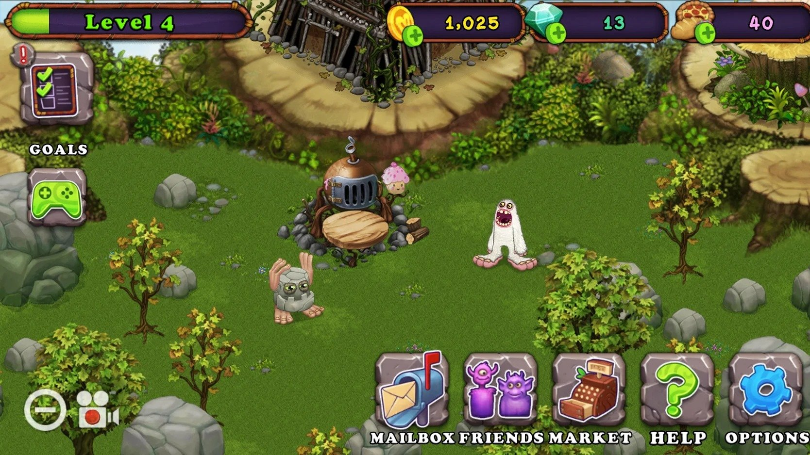 My Singing Monsters graphics
