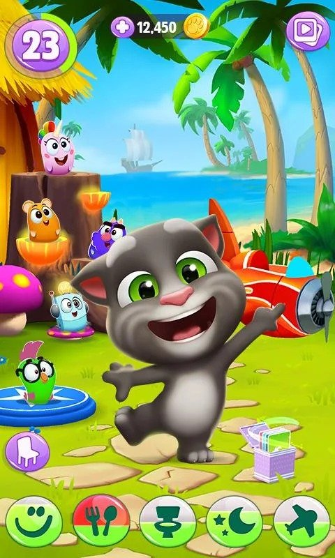 My Talking Tom 2 graphics