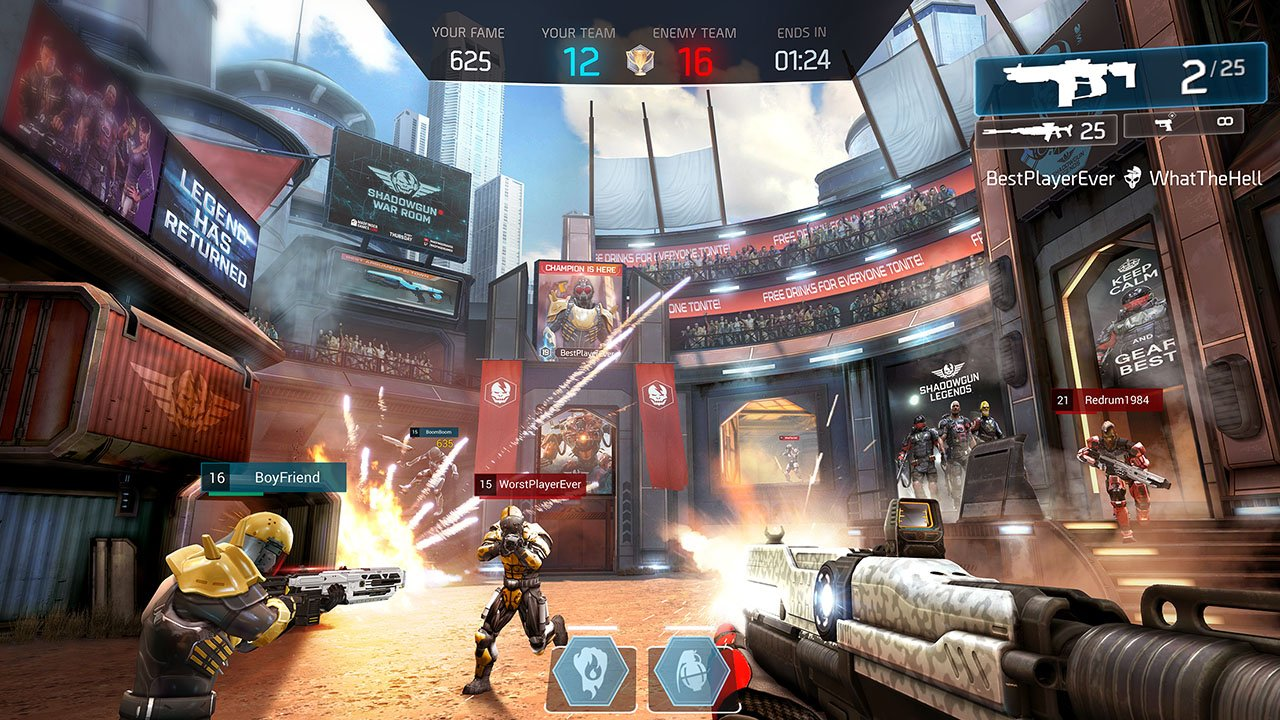 Shadowgun Legends gameplay 2