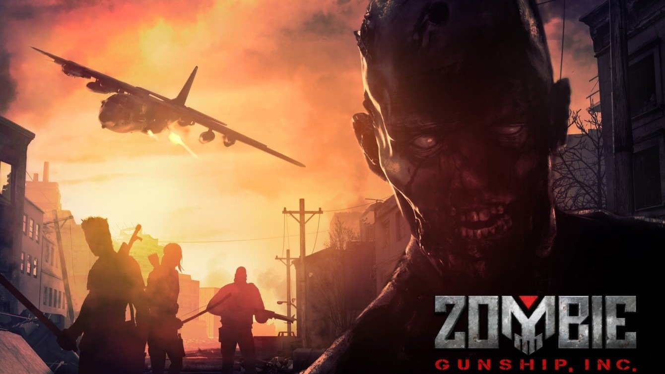 Zombie Gunship Survival cover
