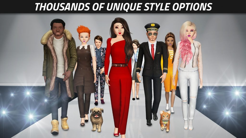 Avakin Life graphics