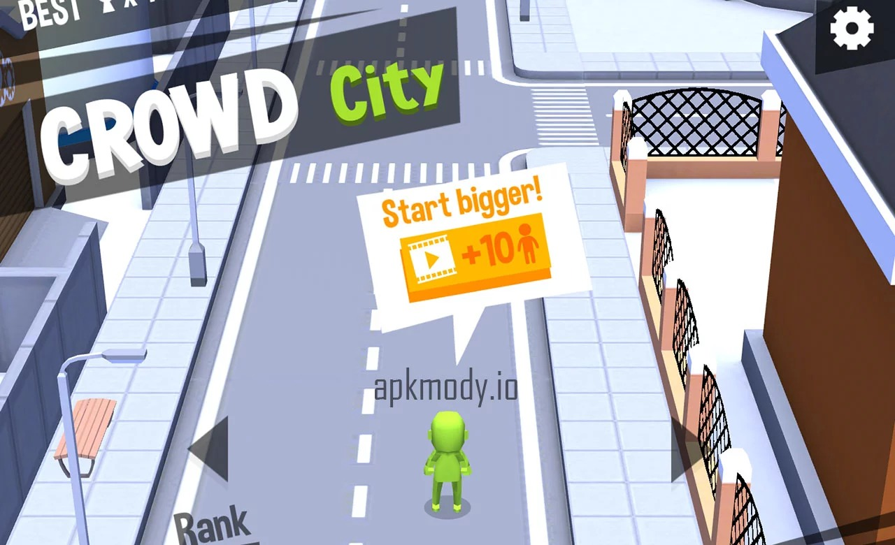Crowd City MOD APK v1 3 0 (Unlock All Skins, No ADS) Download