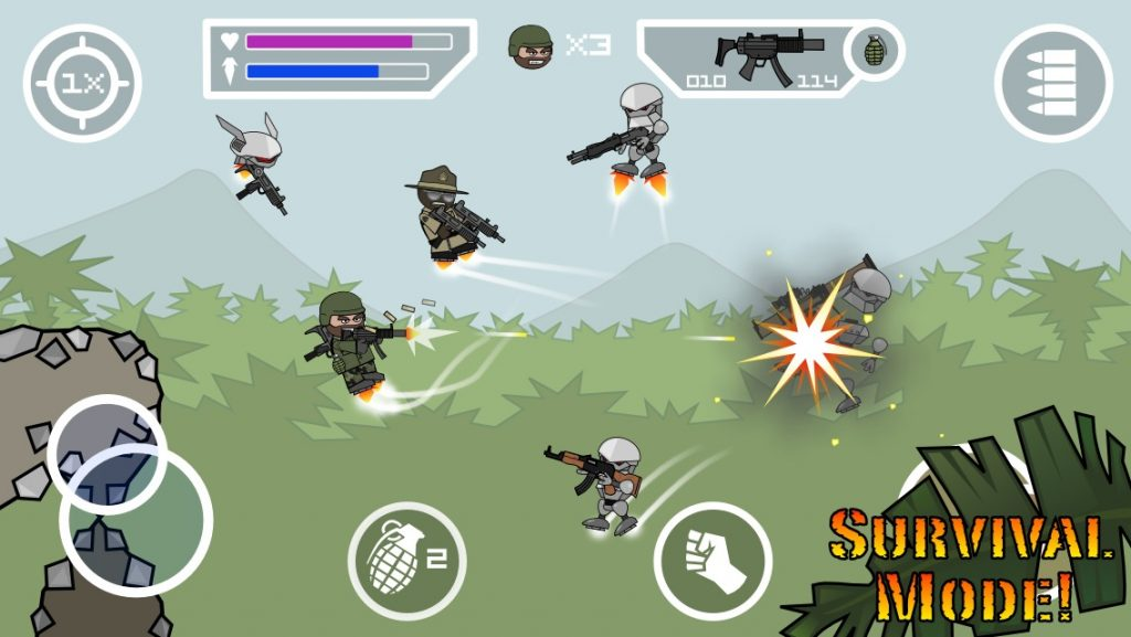 Doodle Army 2 Mini Militia multiplayer 1024x577