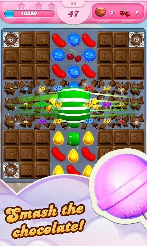Candy Crush Saga graphics