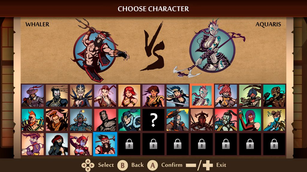 Shadow Fight 2 Characters