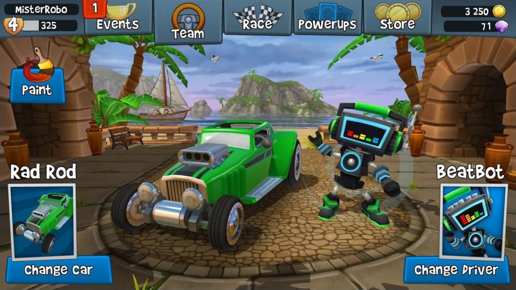 Beach Buggy Racing 2 mod 1024x576