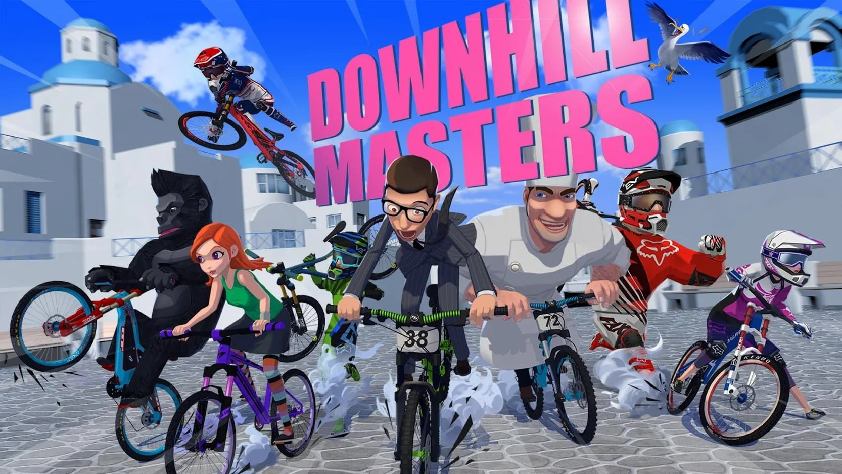 Downhill Masters cover
