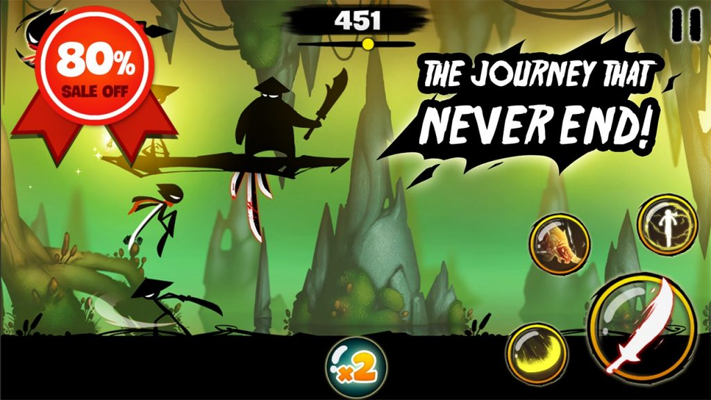 Stickman Revenge 3 graphics 1024x576