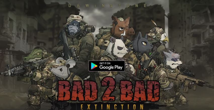 BAD 2 BAD EXTINCTION cover