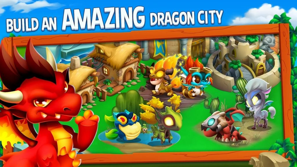 Dragon City gameplay