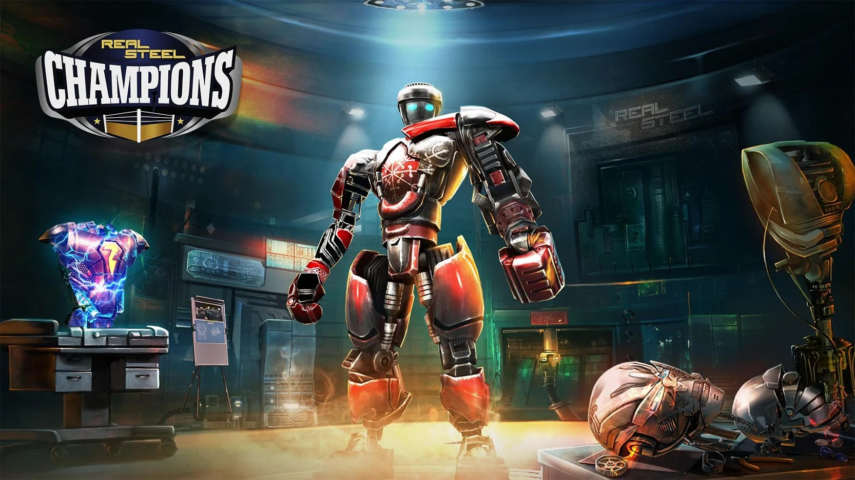 Real Steel Boxing Champions cover