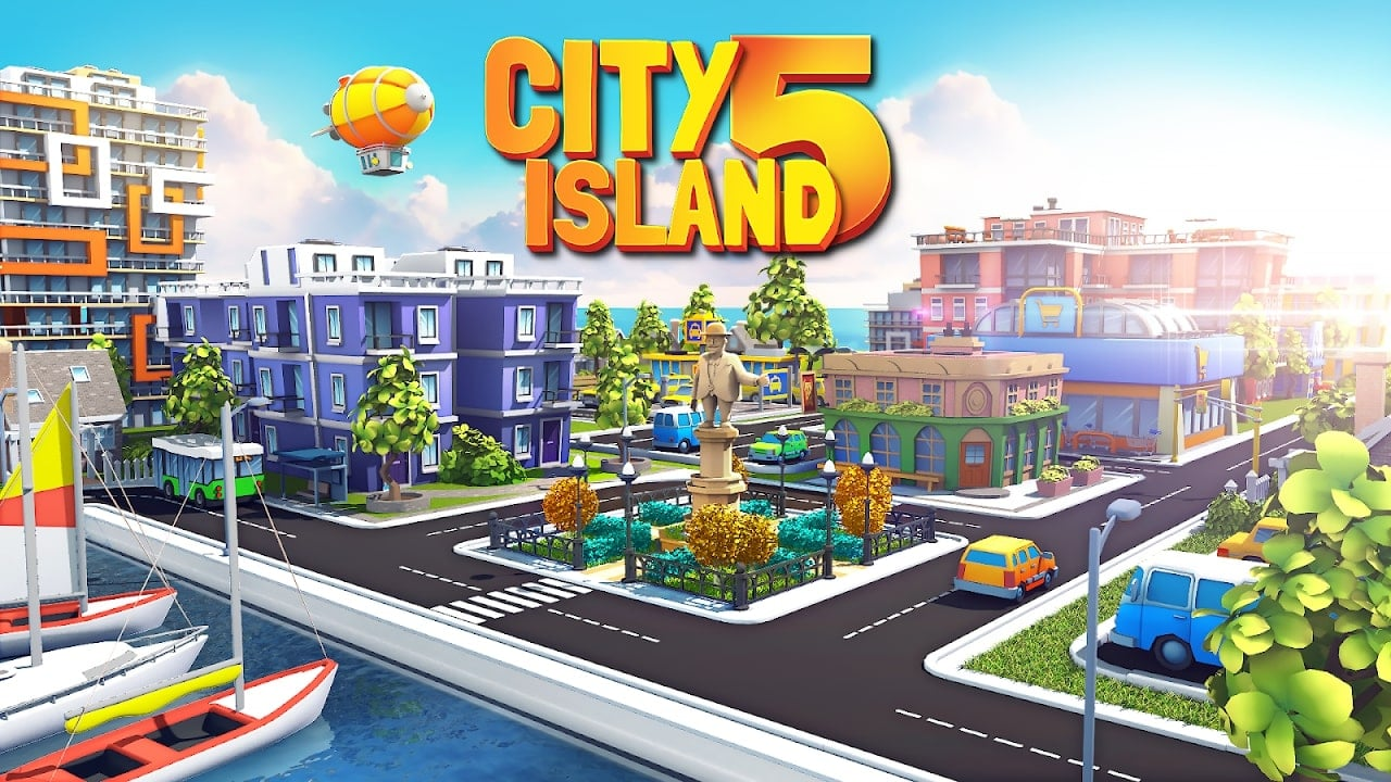 City Island 5 cover photo