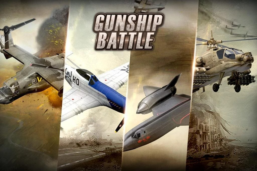 Gunship Battle Helicopter 3D mod 1024x683