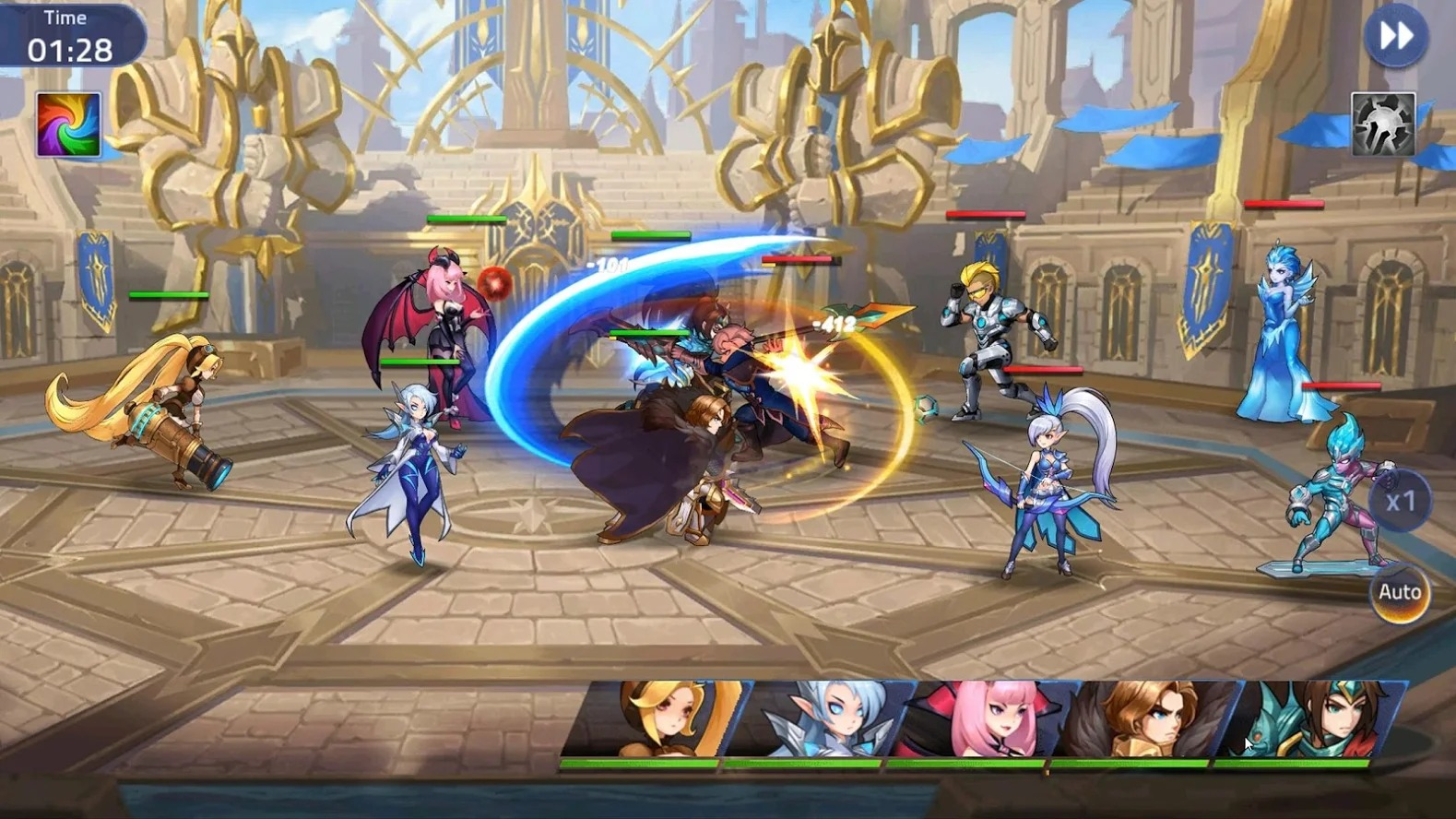 Mobile Legends Adventure graphics