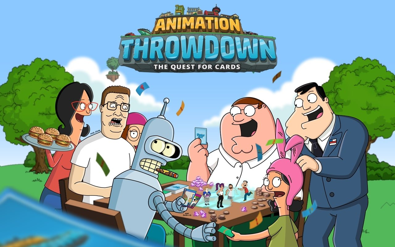 Animation Throwdown Cover