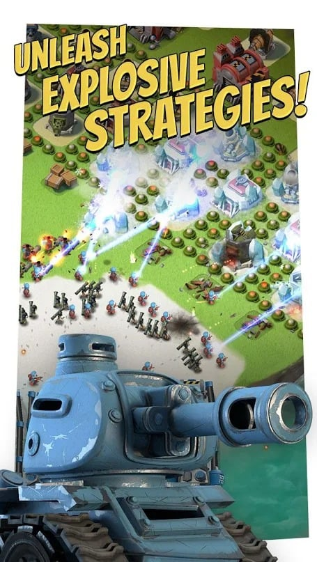 Boom Beach gameplay