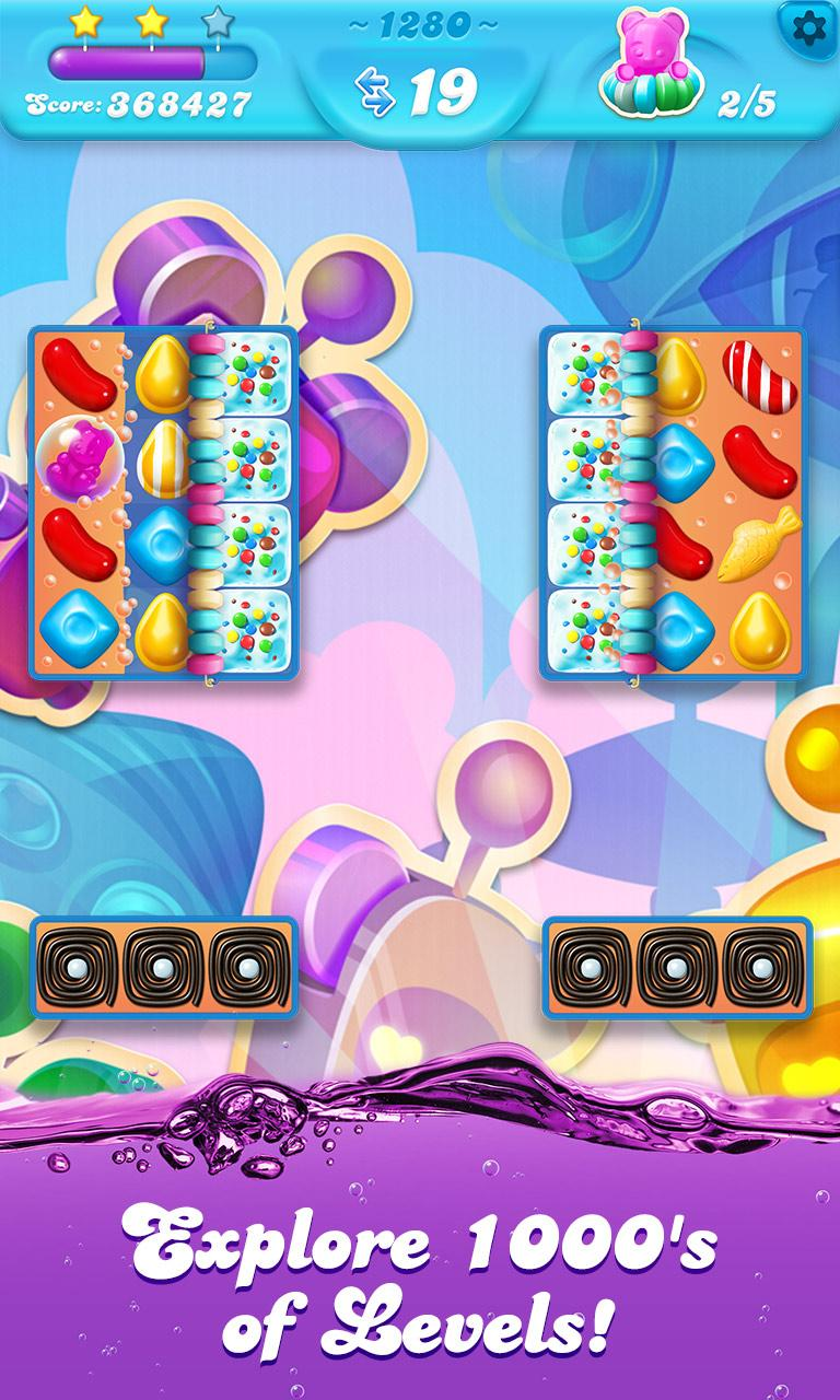 Candy Crush Soda Saga Explore