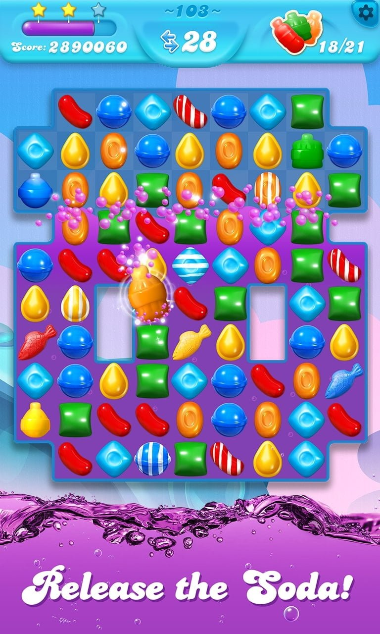 Candy Crush Soda Saga Release