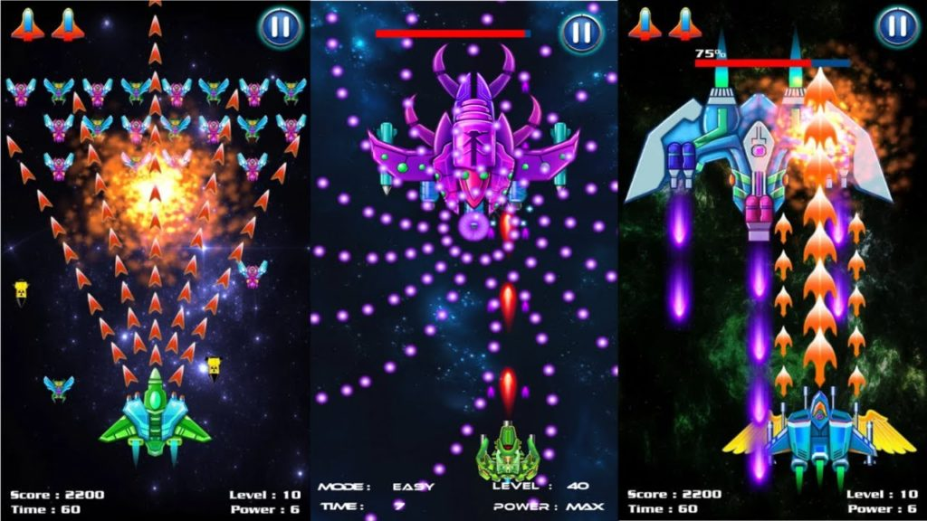 Galaxy Attack Alien Shooter Boss Fighting 1024x576