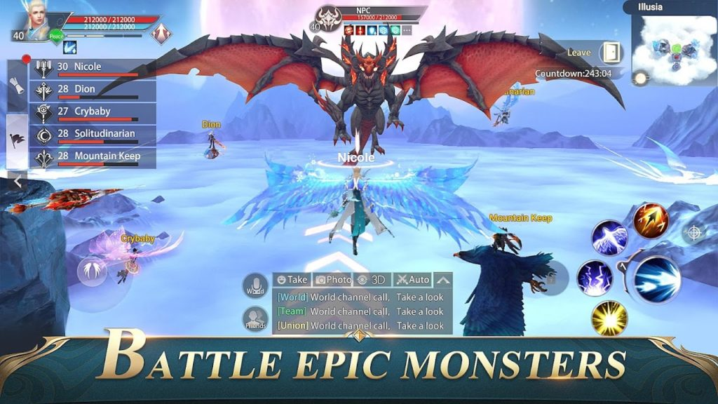 Perfect World Mobile Epic Battle 1024x576