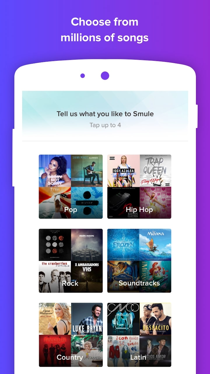 Smule List Of Songs