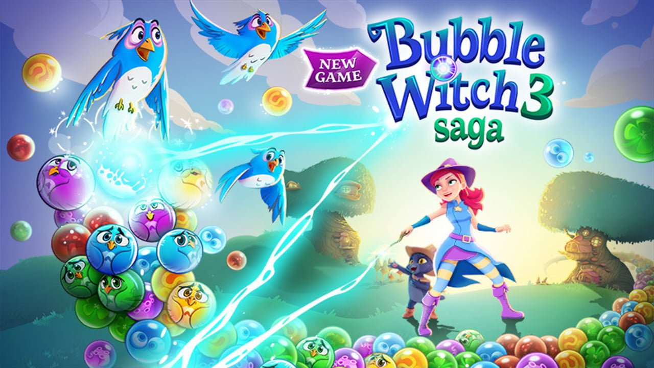 Bubble Witch 3 Saga Cover
