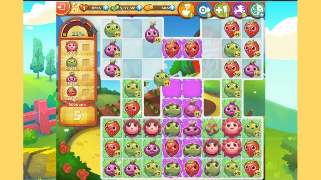 Farm Heroes Saga Gameplay 1024x576