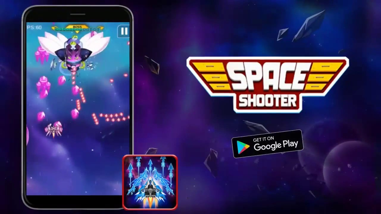 Space Shooter Galaxy Attack Cover