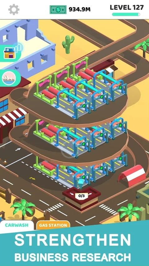 Idle Car Tycoon building