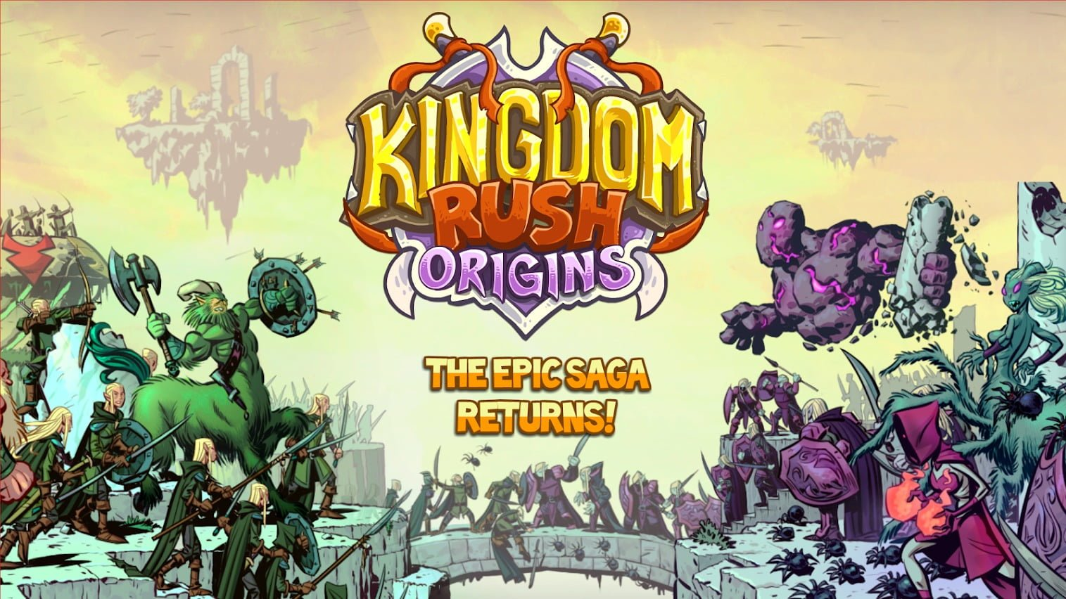 Kingdom Rush Origins cover
