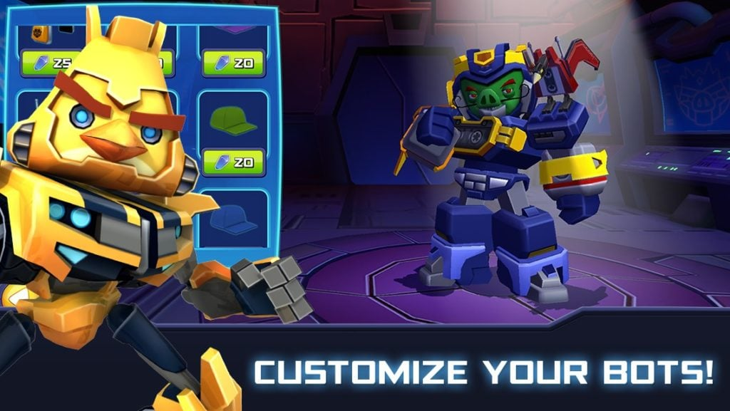 Angry Birds Transformers customize 1024x577