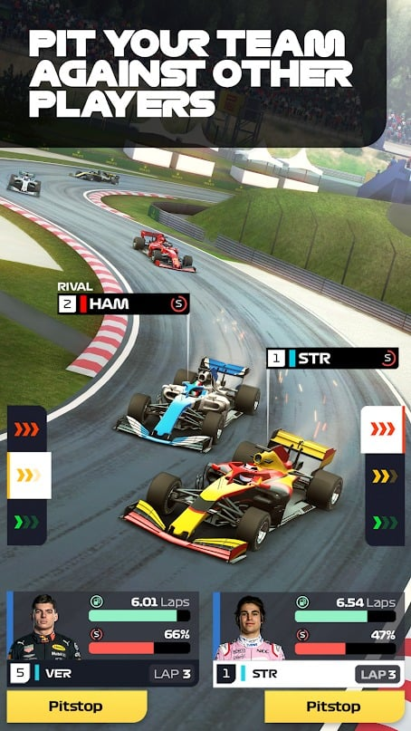 F1 Manager graphics